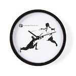 Tampa Bay Fencers Wall Clock