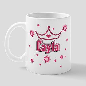 Layla Princess Crown w/Stars Mug