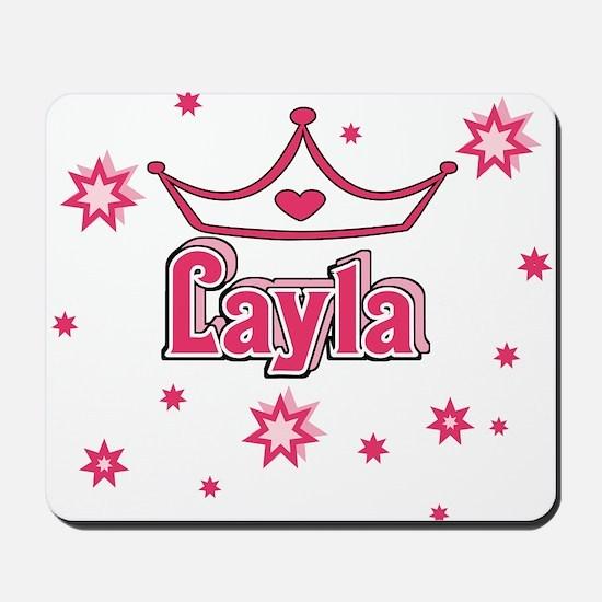 Layla Princess Crown w/Stars Mousepad