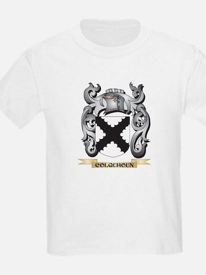 Colquhoun Family Crest - Colquhoun Coat of T-Shirt