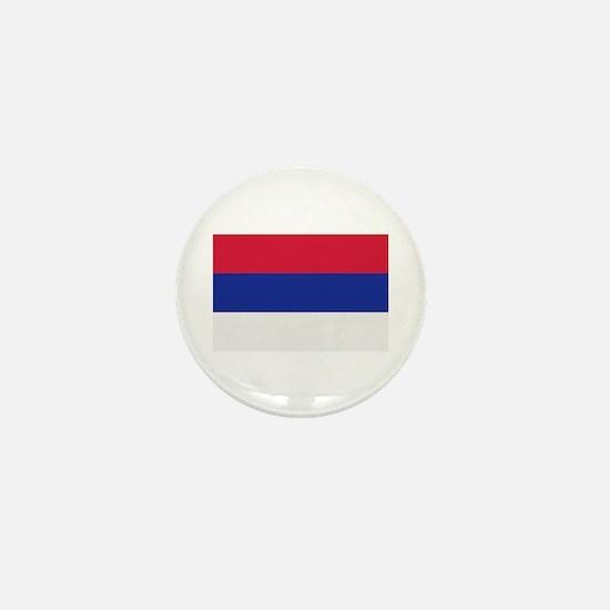 Serbia flag Mini Button