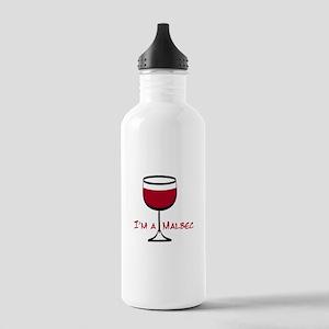 Malbec Drinker Stainless Water Bottle 1.0L