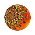 Orange Fractal Art 3.5