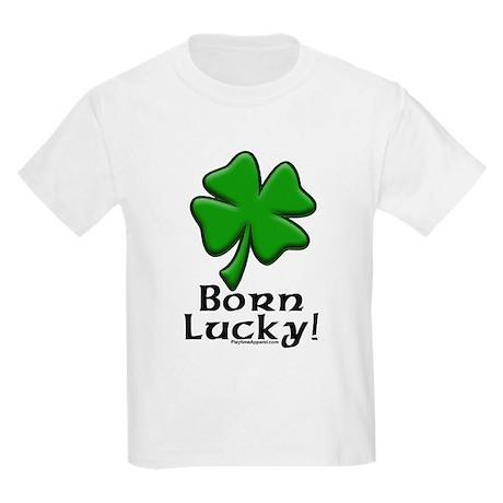Born Lucky Kids T-Shirt