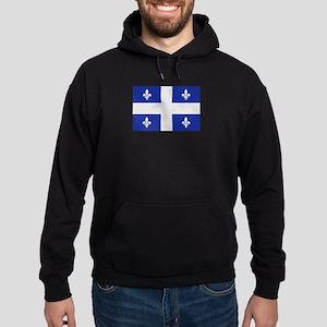 Quebec Canada flag Hoodie (dark)