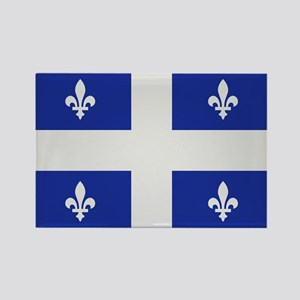 Quebec Canada flag Rectangle Magnet