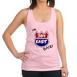 384 east tshirt black letters 3d png Racerback