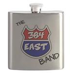 384 east tshirt black letters 3d png Flask