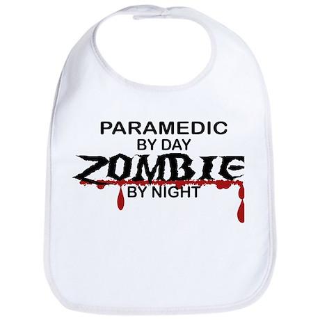 Paramedic Zombie Bib