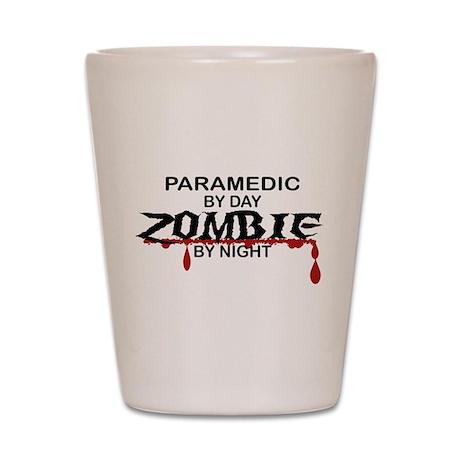 Paramedic Zombie Shot Glass