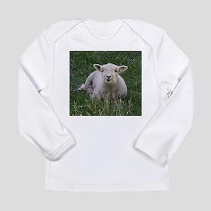 Babydoll Smile Long Sleeve Infant T-Shirt