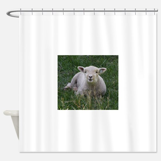 Babydoll Smile Shower Curtain