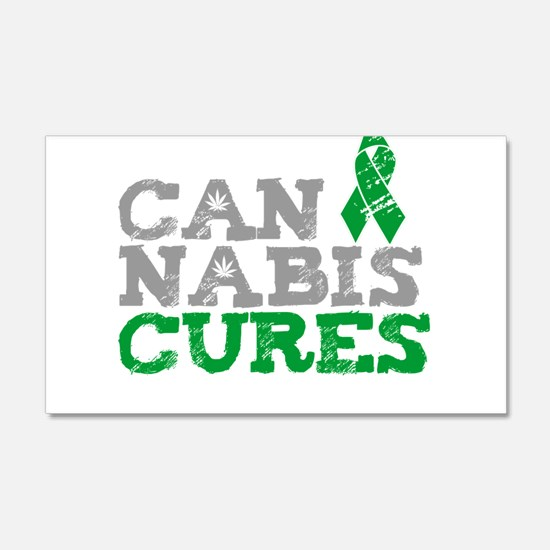 Cannabis Cures Wall Decal