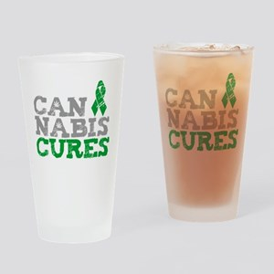 Cannabis Cures Drinking Glass