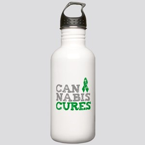Cannabis Cures Stainless Water Bottle 1.0L