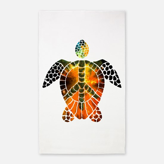 sea turtle-3 3'x5' Area Rug