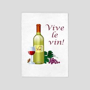 Vive le Vin 5'x7'Area Rug