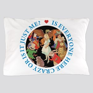 Is Everyone Here Crazy? Pillow Case