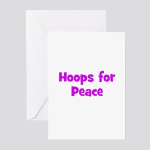 Hoops for Peace Greeting Cards (Pk of 10)
