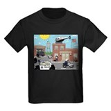 Police Kids T-shirts (Dark)