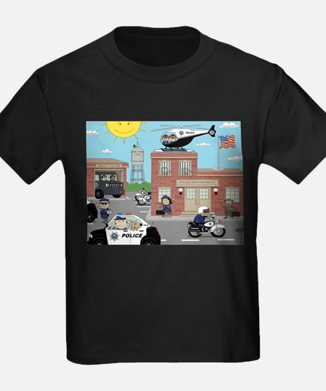 POLICE DEPARTMENT SCENE T