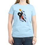 Solavengers Flying Flames Women's Light T-Shirt