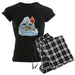 Solavengers Freezing Fire Women's Dark Pajamas