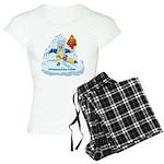 Solavengers Freezing Fire Women's Light Pajamas
