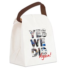 Yes We Did (Again): Obama 2012 Canvas Lunch Bag