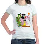 Solavengers Floral Fire Jr. Ringer T-Shirt