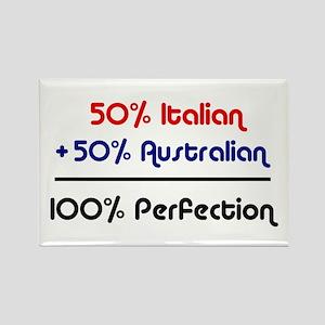 Italian & Australian Rectangle Magnet