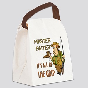 MasterBaiter Canvas Lunch Bag