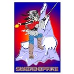 Solavengers Sword of Fire Large Poster