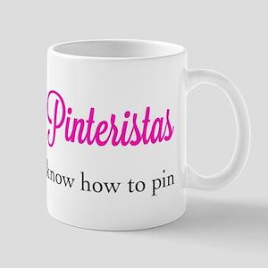 Pinteristas Know How to Pin T-shirt Mug