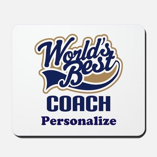 Personalized Coach Mousepad