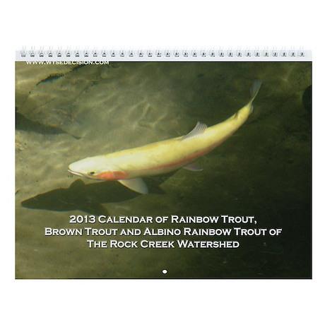 2013 Wild Trout Wall Calendar