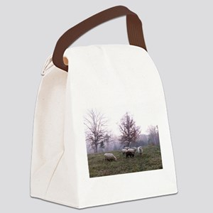 Late Fall Canvas Lunch Bag