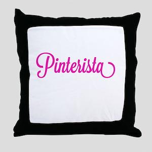 Pinterista T-shirt Throw Pillow