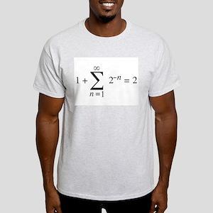 summation notation _ 1+1=2 Light T-Shirt