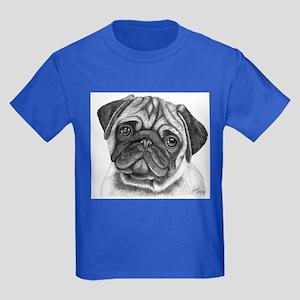 Pug Kids Dark T-Shirt