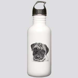 Pug Stainless Water Bottle 1.0L