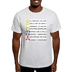 Acróstico Colombia Ash Grey T-Shirt