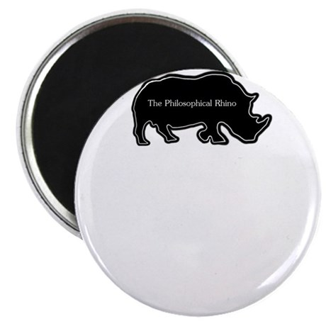 The philosophical rhino Magnet