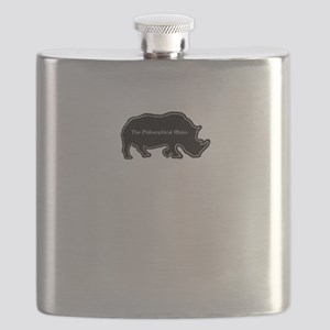 The philosophical rhino Flask