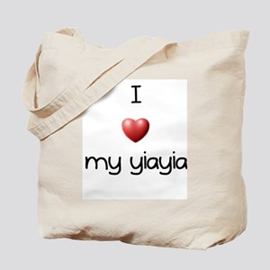 I Love Yia Yia Tote Bag