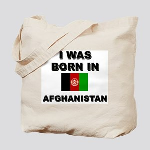 I was born in Afghanistan Tote Bag