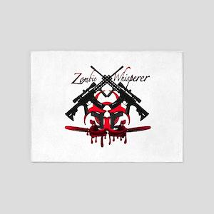 Zombie Whisperer 5'x7'Area Rug