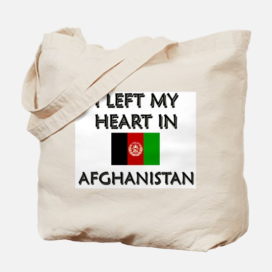 I left my heart in Afghanistan Tote Bag