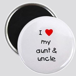 I love my aunt & uncle Magnet