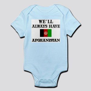 We will always have Afghanistan Infant Creeper